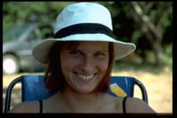 Zweitgeduldigste Frau der Welt, Aigues Mortes, Camargue, 2002