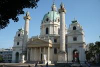 Karlskirche, Wien, Österreich Wien