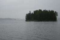 Kanutour 2009, Lelång, Dalsland, Schweden